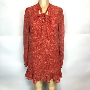 Free people NEW $120 floral 2 pieces tunic dress